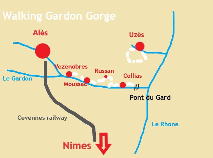 Walking Gardon Gorge