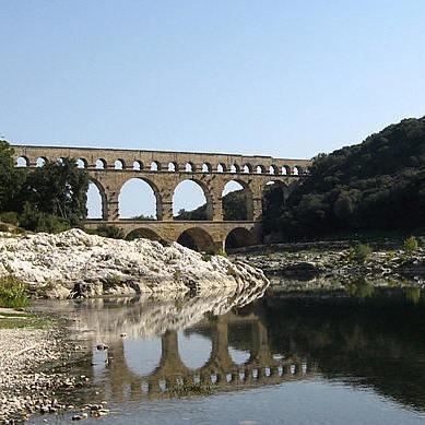 Walks In France - Light: Le Pont Du Gard