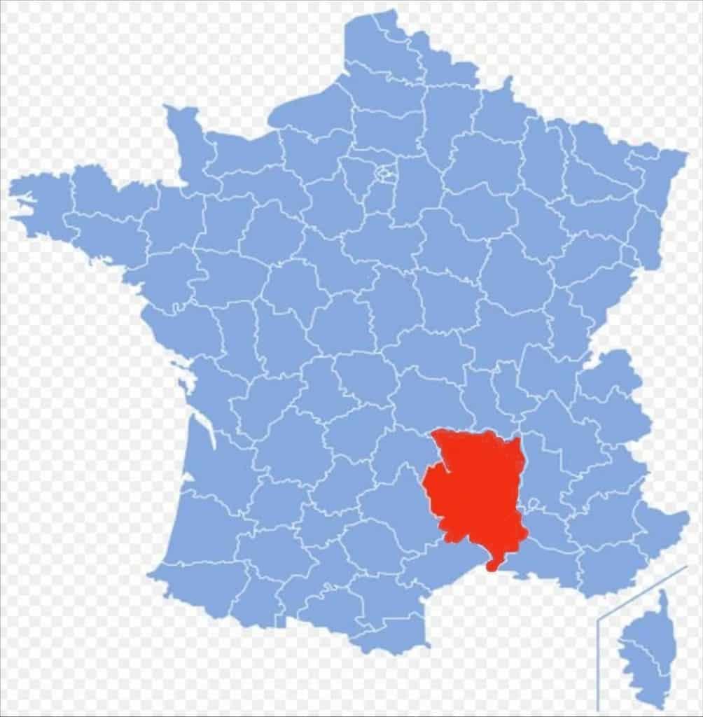 Lozere Gard Upper Loire  Ardeche
