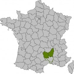 Walking Cevennes By Rail - France_Departments-Regordane Best Of Map