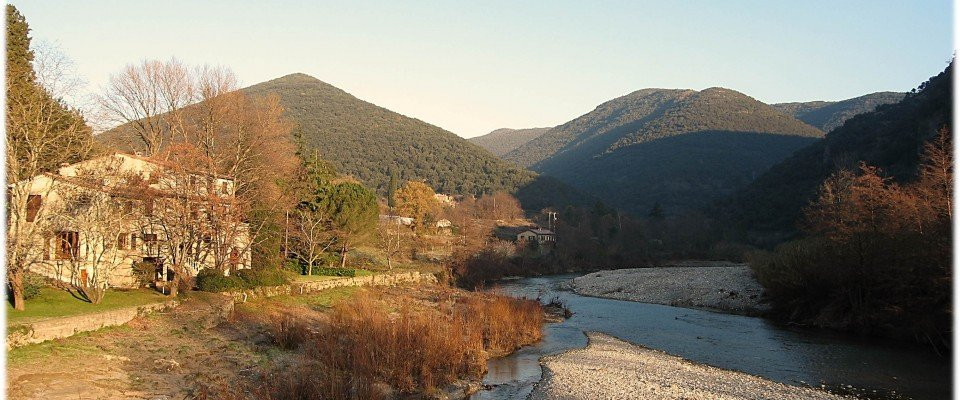 Walking In Cévennes Near Mialet