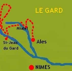 Cevennes Heaven Map