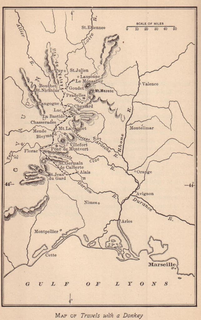 Original Stevenson Map