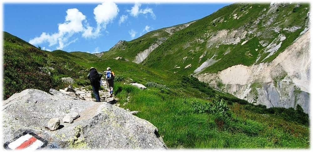 towards Col de Balme - Description of walking the TMB - northern half