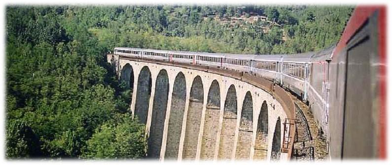 Cévennes Railway - Le Cévenol At Chamborigaud