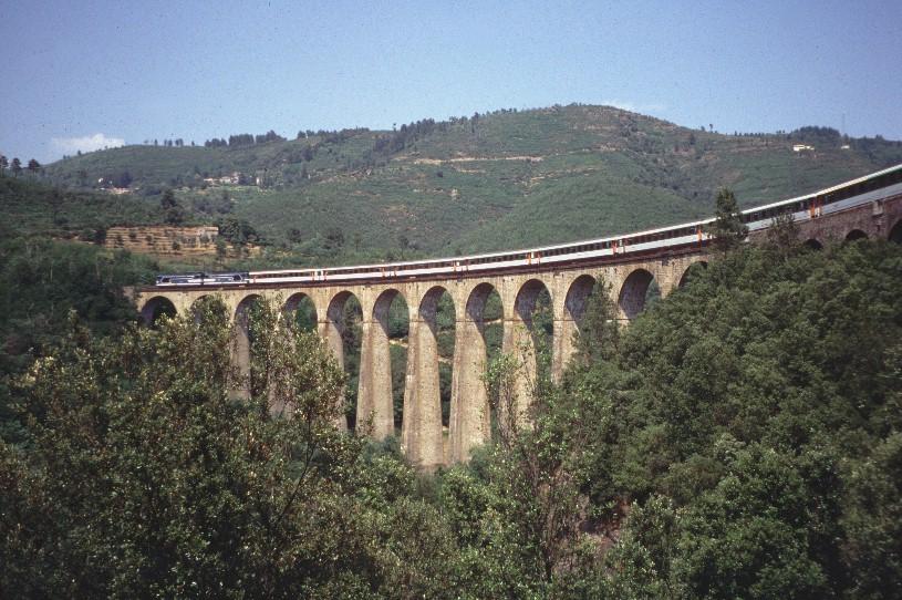 Cévennes Railway At Chamborigaud