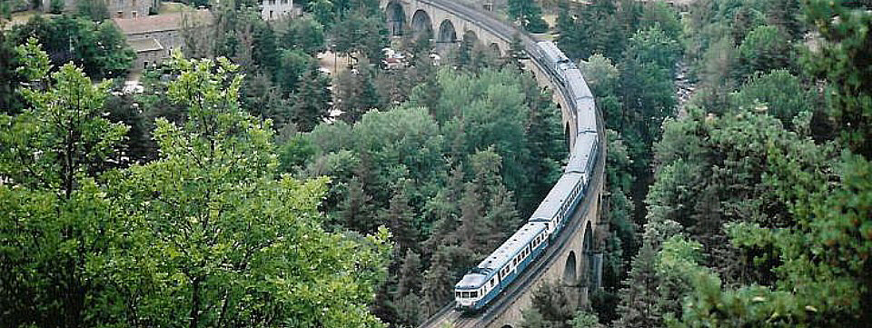 Cévennes Railway - Le Cévenol At Chapeauroux