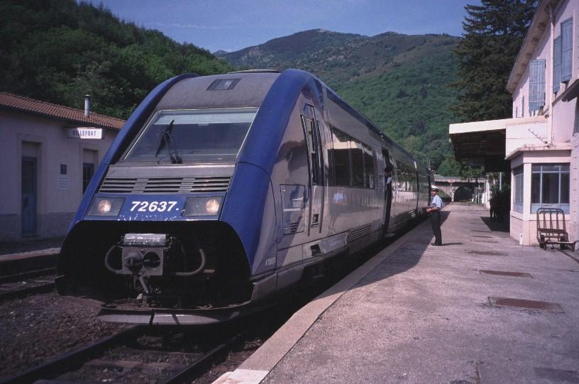 Cévennes Railway - At Villefort Station