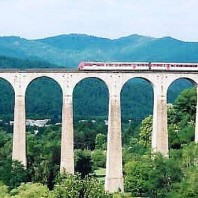 Hiking in France by Train
