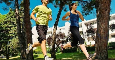 Self-Guided Walking Tours In France:grande Motte: Fitness &Amp; Good Life - Two Joggers