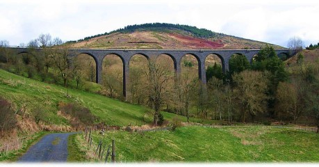 Self-Guided Walking Trips In France:stevenson Trail Part One - Arquejol Viaduct
