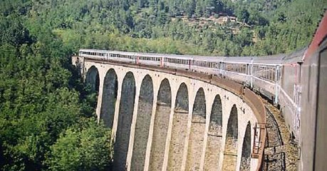 Walking Cevennes By Rail - Viaduct