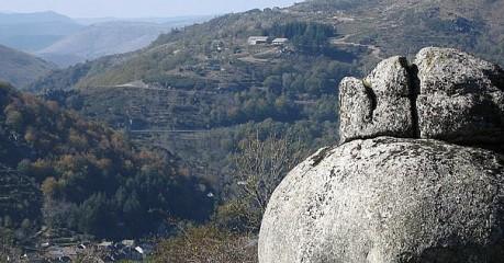 Walking In France - Rock Outcrop Near Pont De Montvert