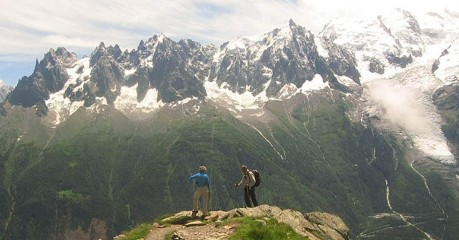 Walking Tour Of Mont Blanc In Comfort & Self-Guided
