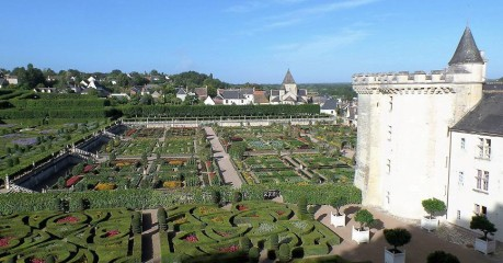 Villandry Castle And Xvi Century Gardens