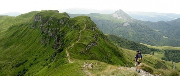 Hiking Cantal's volcanic uplands