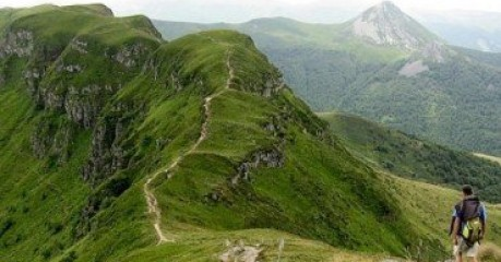 Walking in France's Cantal - Breche Rolland