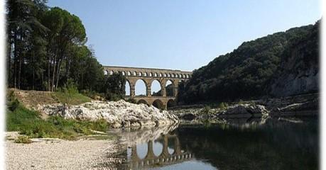 Short walks in France: Pont du Gard Walking
