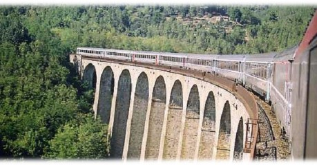 Walking in France via the Cévennes Railway