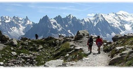 Walking Mont Blanc
